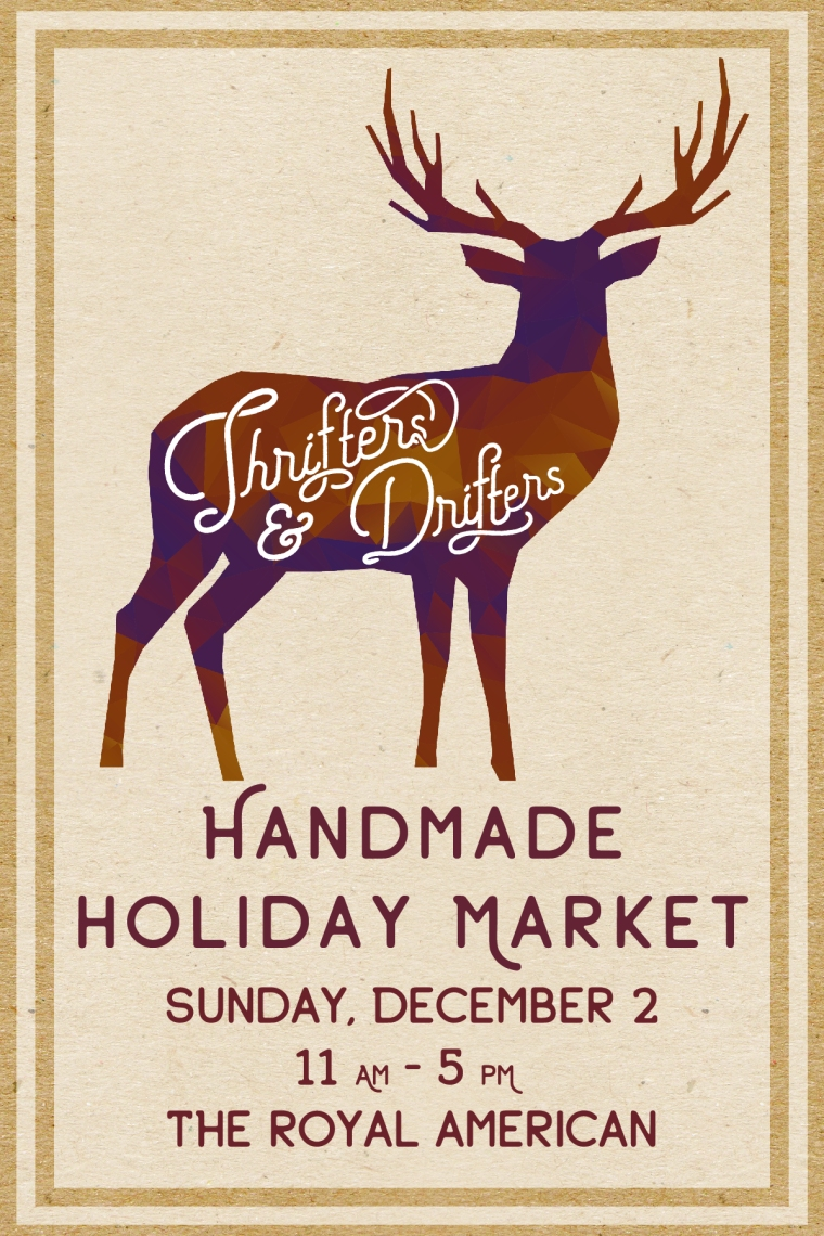 Thifters & Drifters Holiday Market-FLYER
